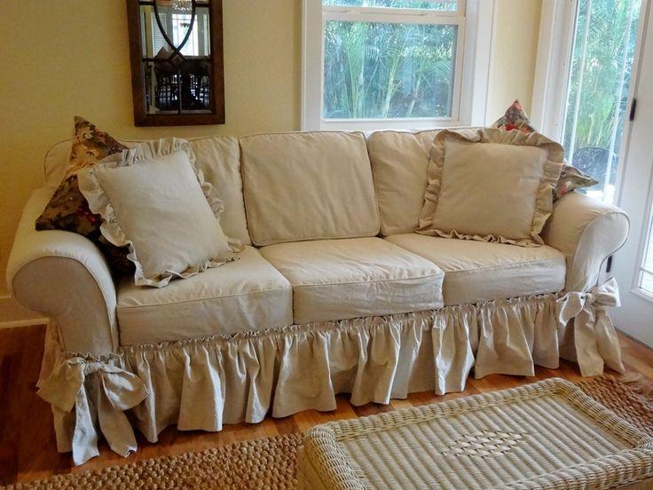 Dropcloth Slip Covers Marge 39 S Custom Slipcovers Beautiful Home Ideas Pinterest Custom
