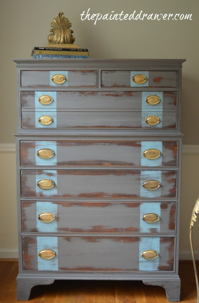 Chic and Shabby – a Hepplewhite Dresser | The Painted Drawer