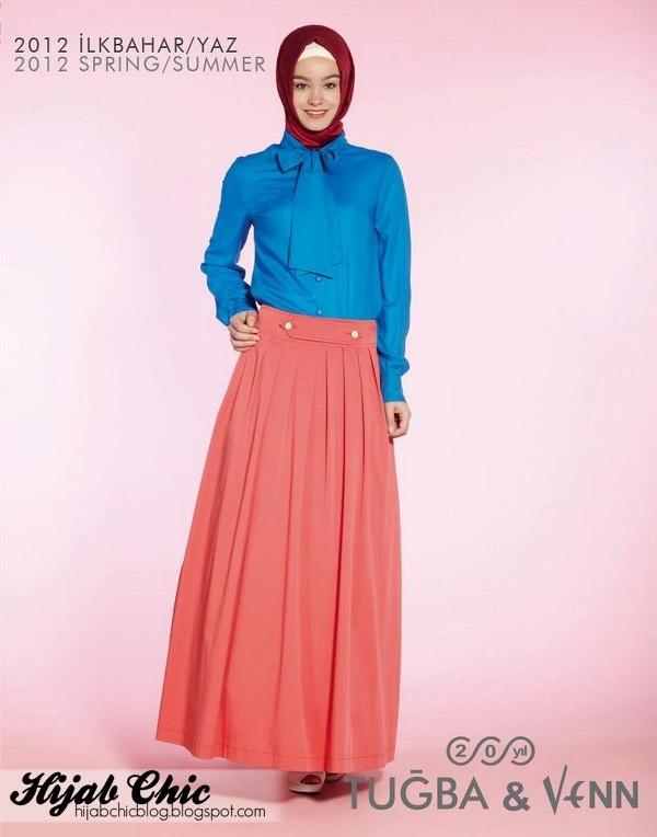 #hijab #blue