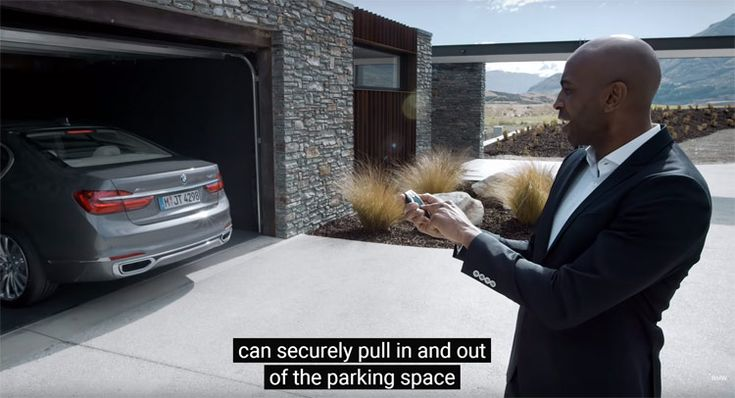 BMW Demonstrates 2016 7-Series' Remote Control Parking [w/Video]