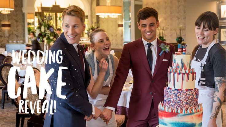 Wedding Cake Reveal to Lance! | Our Wedding Day! | Tom Daley Lance sees our wedding cake for the very first time on our wedding day! Massive thanks to Cupcake Jemma and her team at Crumbs and Doilies for making such a beautiful cake! Subscribe to Toms channel: https://www.youtube.com/subscription_center?add_user=tvtomdaley Order Tom's Daily Plan here: http://amzn.to/2hHsbUO Subscribe to Jemma here - https://www.youtube.com/channel/UCoMum0pwewO8_WtTlUQxGHw If you havent seen the other videos…