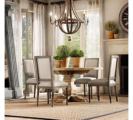 Dining Room: Luxury Small Round Glass Dining Table With Wooden Legs Four  Dining Chairs Plus Brown Wooden Legs Black Wall Art Decor White Carpet  Laminated ... Part 75