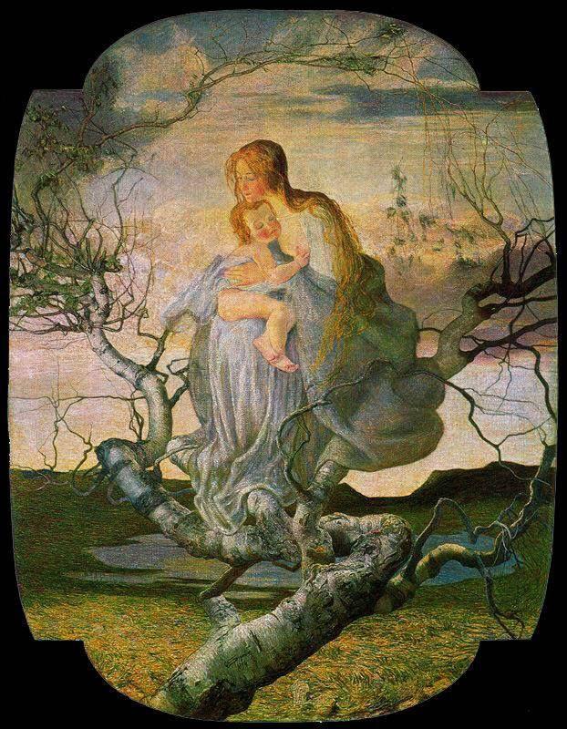 Giovanni Segantini, L'angelo della vita