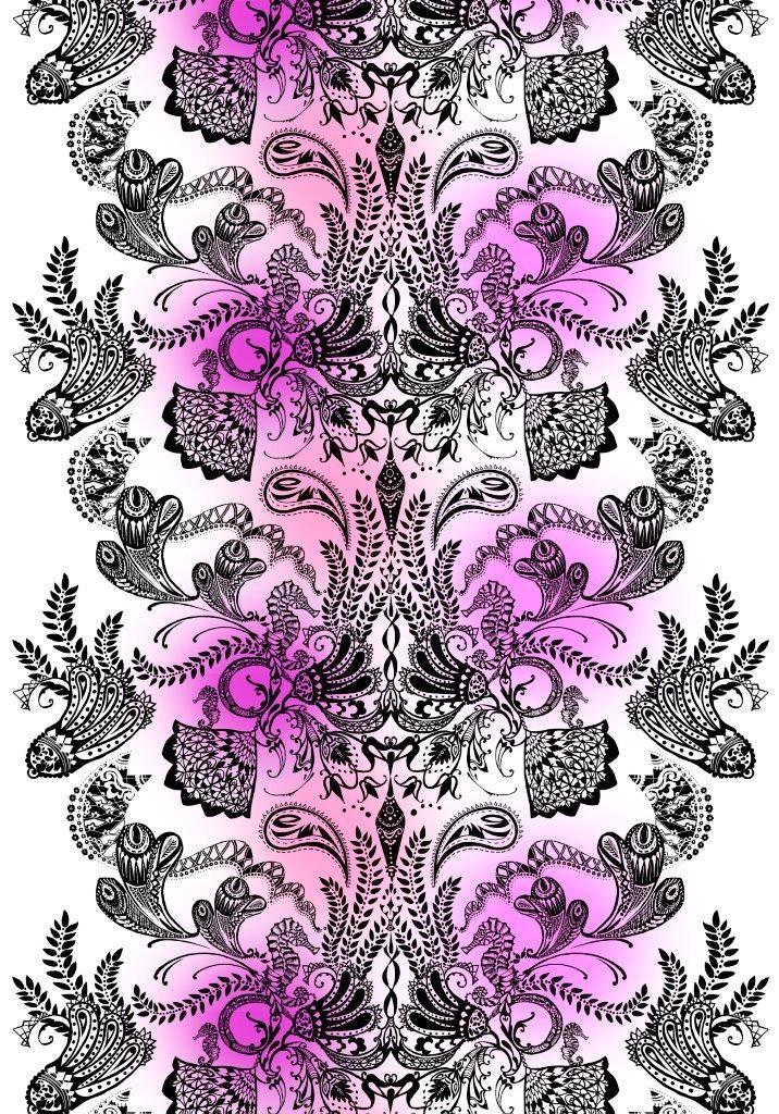 Vallila Interior Syvämeri pink