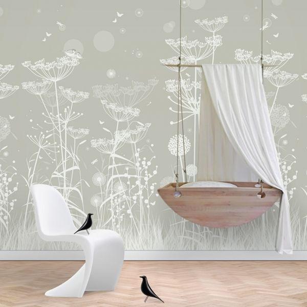 M s de 25 ideas incre bles sobre papel pintado infantil en - Papel pintado para habitacion de nina ...