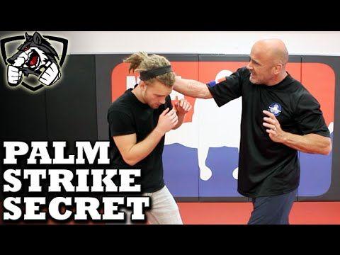 Bas Rutten's Palm Strike KO Secret Technique: Bone Strikes