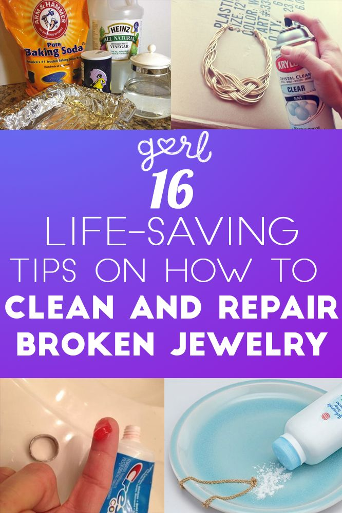 16 Life-Saving Tips On How To Clean And Repair Broken Jewelry