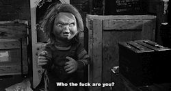 scary gif quote Black and White quotes creepy horror dark morbid darkness Macabre spooky Horror Movies eerie terror horror movie horror film child's play horrible horror gif chucky terrifying dark blog horror blog good guy doll