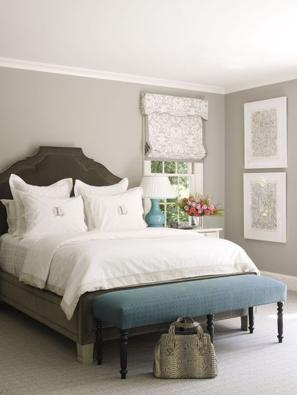 Gray Bedroom - Lindsey Coral Harper