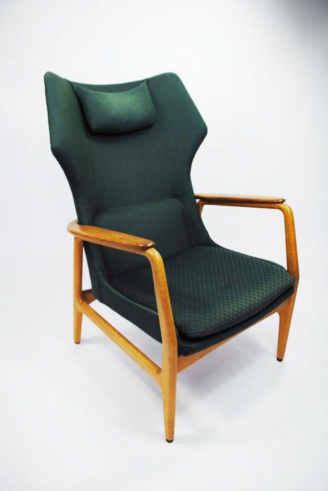 Aksel Bender Madsen; Teak Armchair for Bovenkamp, 1960s.