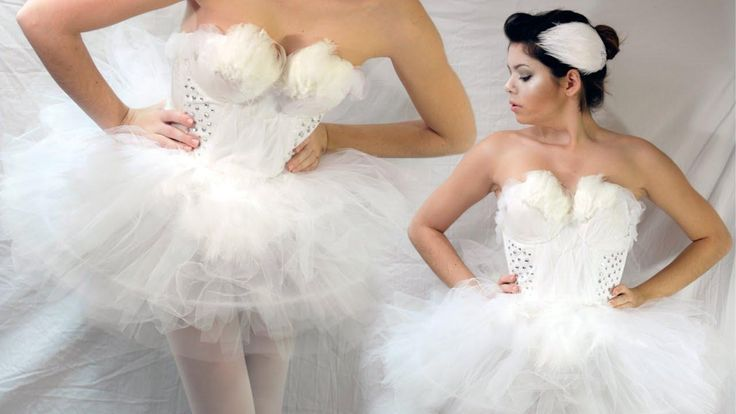 DIY Tutorial: DIY Fairy Costume / DIY WHITE SWAN HALLOWEEN COSTUME - Bead&Cord