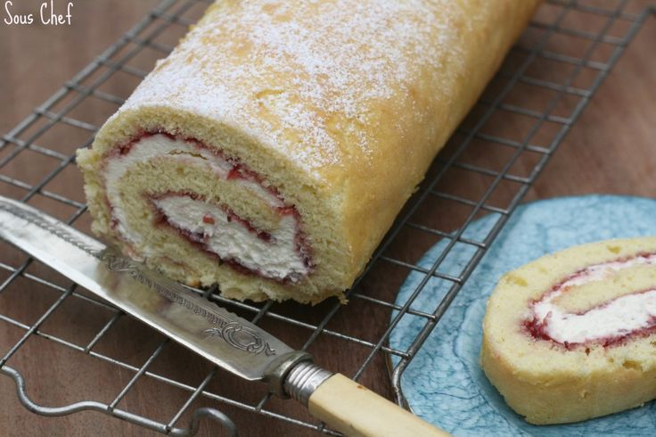 Old fashioned Swiss roll
