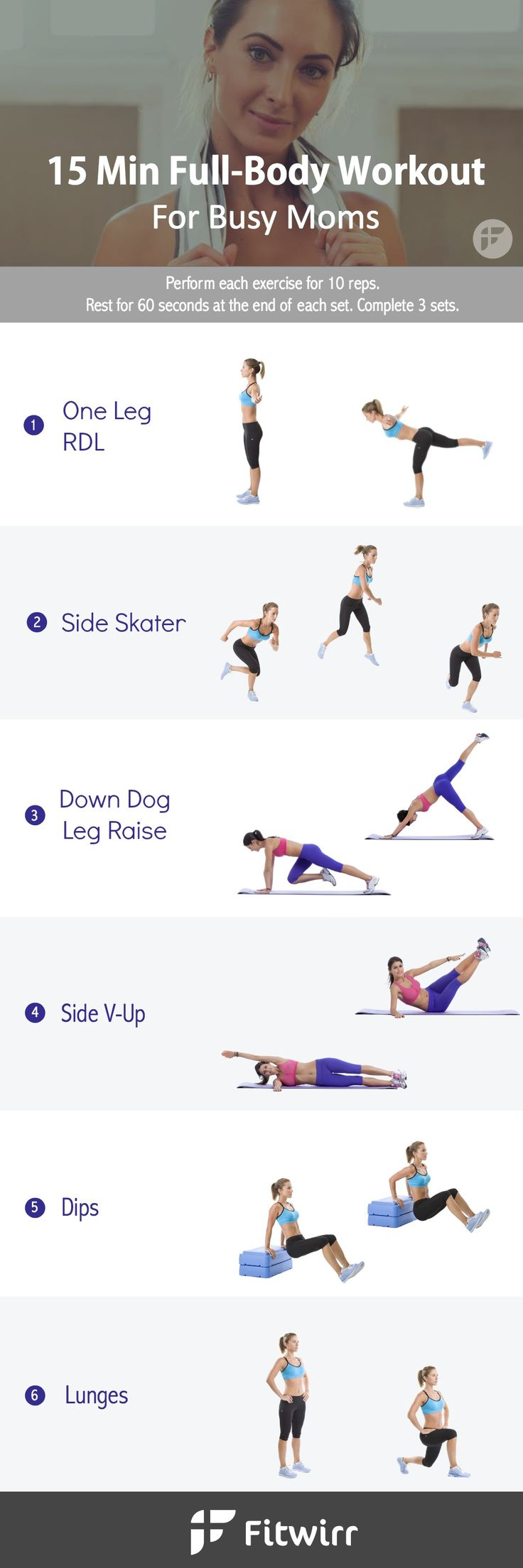 Don't have time for the gym? You don't need abundance of time or resources to get in shape and stay fit. Squeeze in this 15-minute fat-burning, calorie-crushing workout that whip your body into shape.