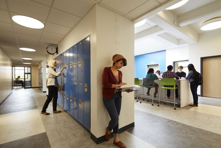 Wolcott School designed to support individual learning styles in a community environment - Wheeler Kearns Architects