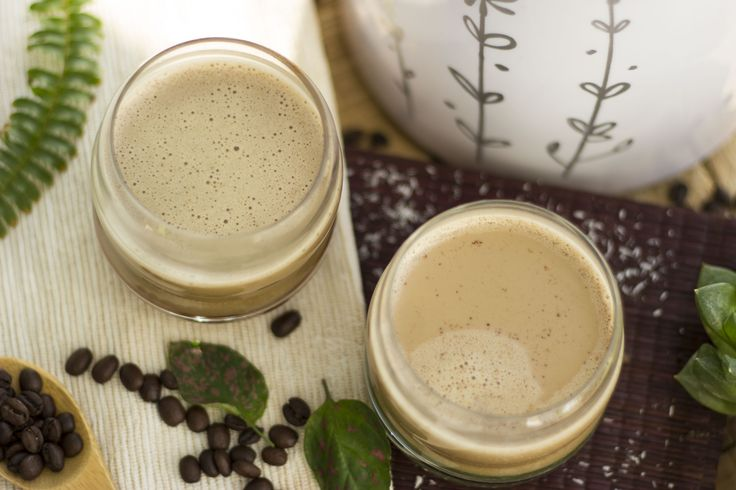 Leche de coco preparada en MioMat con café, realmente una delicia :) #coco #coffee #cafe #leche #lechevegetal #coconut
