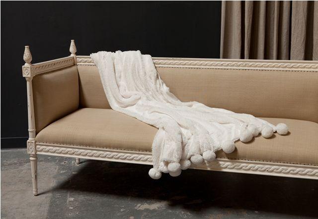 Pom Pom Throw in white: Day Beds, Pom Throw, White Home, Blankets Throw, Dark Grey, Pretty Blankets, Pom Blankets, Pom Pom, Throw Blankets