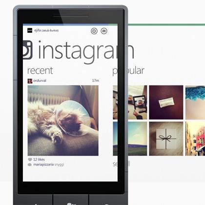 Instagram Windows Phone Concept
