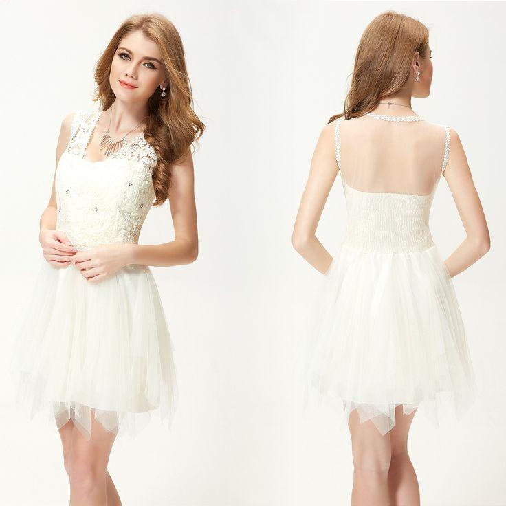 Abendkleid / kurzes Abiball Kleid