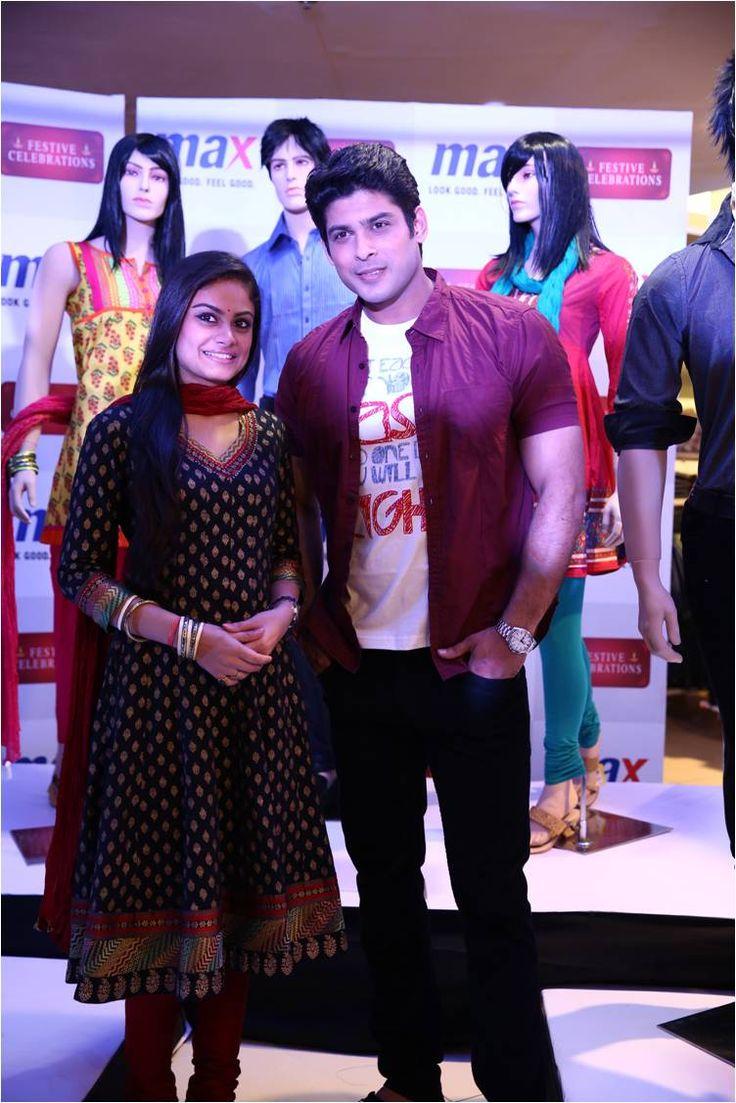 Toral Rasputra and Sidharth Shukla at Max