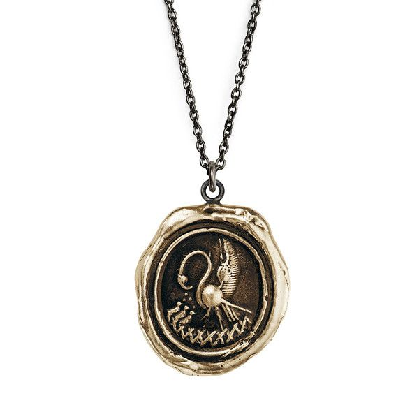 Mother's Day gift idea: Bronze Maternal Devotion Talisman Necklace #mothersday #giftsformom