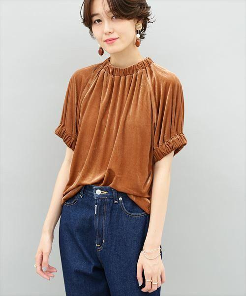 【ZOZOTOWN 送料無料】ADAM ET ROPE'(アダム エ ロペ)のTシャツ/カットソー「【2017AW先行予約】アンティークベロアTee」(GAM2738)を購入できます。