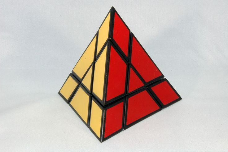 Halpern-Meier Pyramid/Tony Fisher's Tetrahedron, an early ...