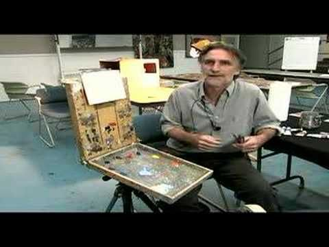 Basic Oil Painting Techniques : How to Start an Oil Painting - YouTube
