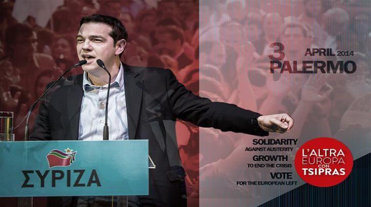Ο Αλ. Τσίπρας σήμερα στο Παλέρμο - Σε ζωντανή μετάδοση από το left.gr η ομιλία του στις 21:45 :: left.gr