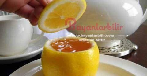 Boğaz ağrısı ve boğaz kaşıntısı için Bal ve Limon