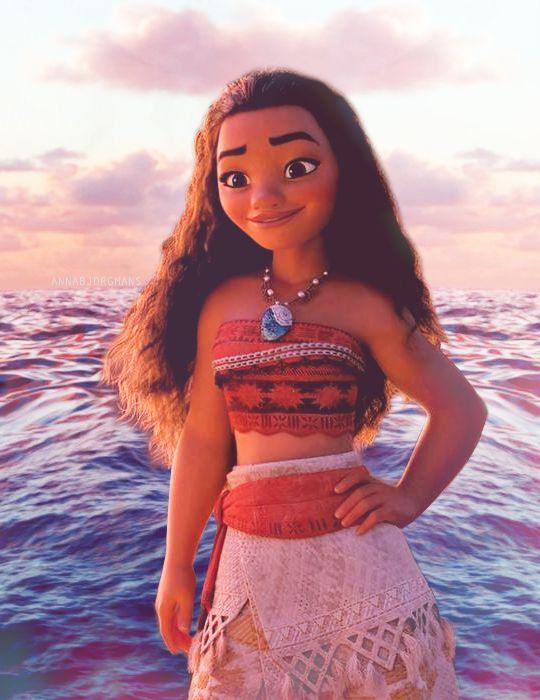 Moana la primera princesa Hawaiana ⛵️ #ElOceanoTeLlama
