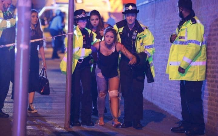 Manchester Arena explosion: 22 killed in 'terror attack by suicide bomber' at Ariana Grande concert ------MIND CONTROL !! -----