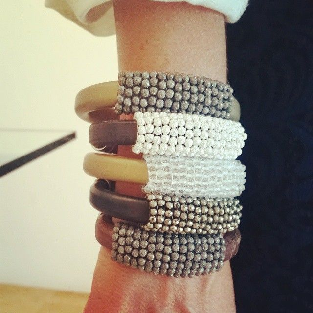 #StackOfTheDay Bulky #Bracelets available now on http://etyandelle.com/collections/whats-new #Shop now!