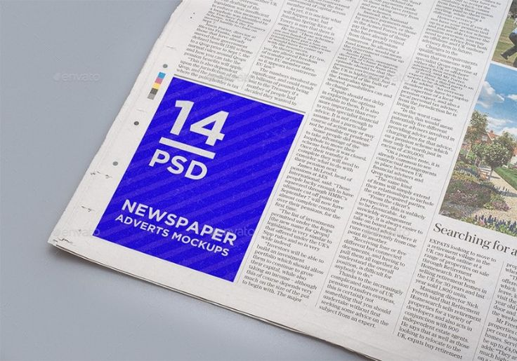 25+ Newspaper Ad Mockup Psd Design Template For Branding | 25+