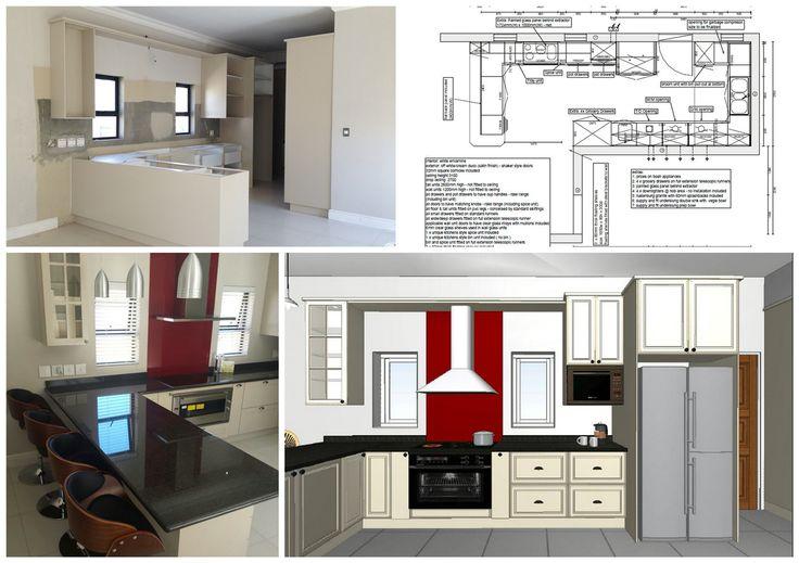 New kitchen build in Kelderhof Estate, Somerset West