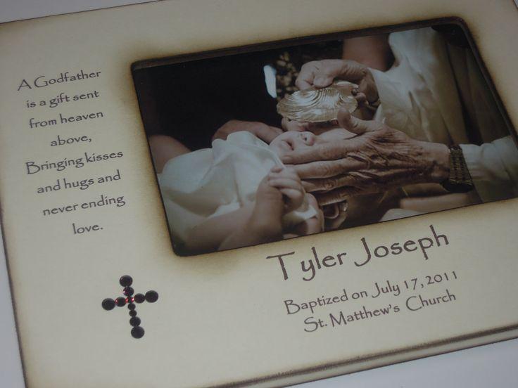 Baptism Gift For Godparents Christening Gift Godparents: 33 Best Godparent Gifts Images On Pinterest