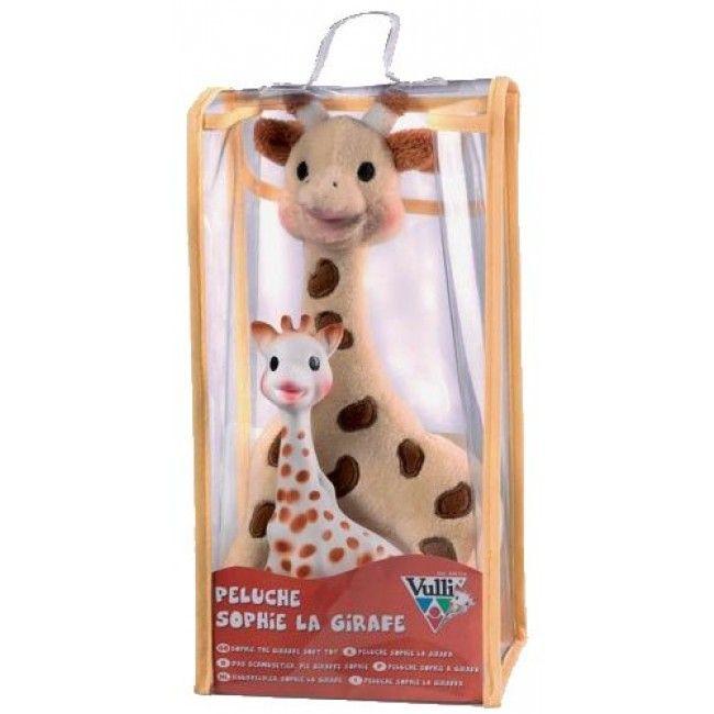 Conjunto Sofia A Girafa Pelúcia e Mordedor de Borracha - Vulli - Brinquedos - Bebês e Infantil