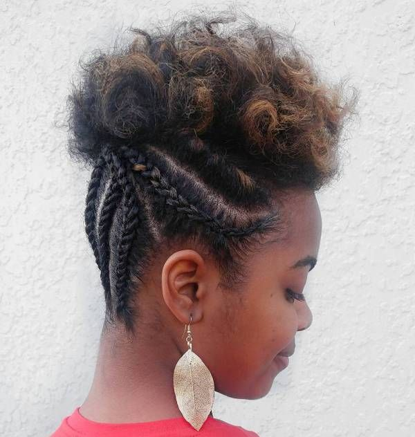 30 Best Natural Hairstyles For African American Women Natural