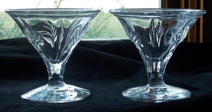 Best 25 fostoria glass ideas on pinterest vintage wine for Clear baroque glass