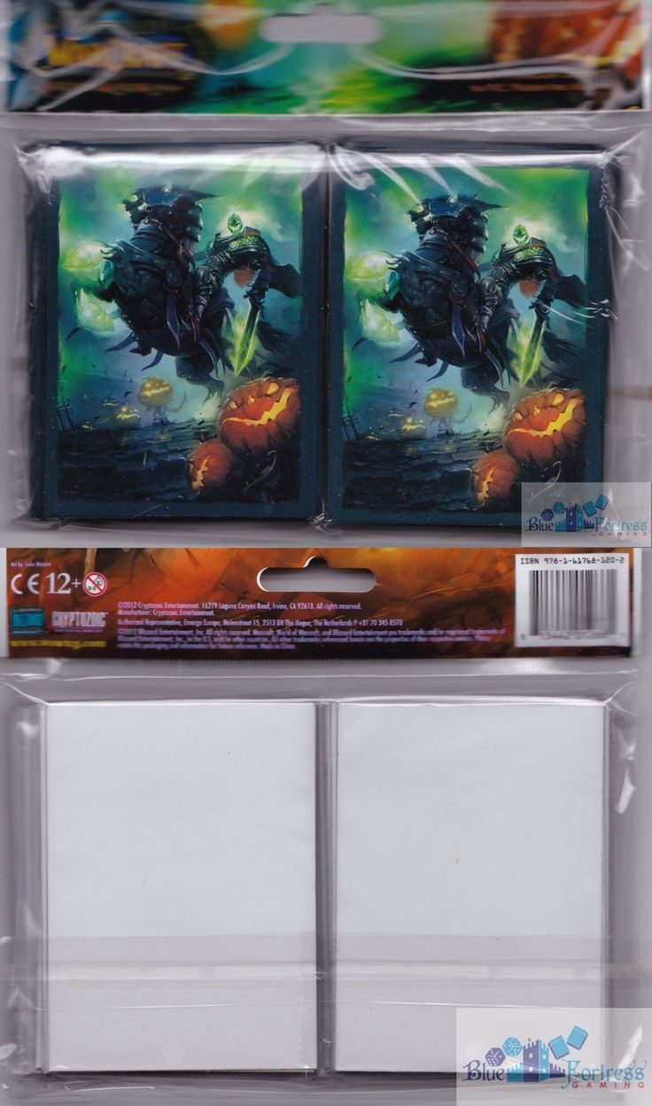 Other MTG Items 218: Headless Horseman Deck Protectors Card Sleeves For Wow Pokemon Mtg Cards -> BUY IT NOW ONLY: $49.11 on eBay!