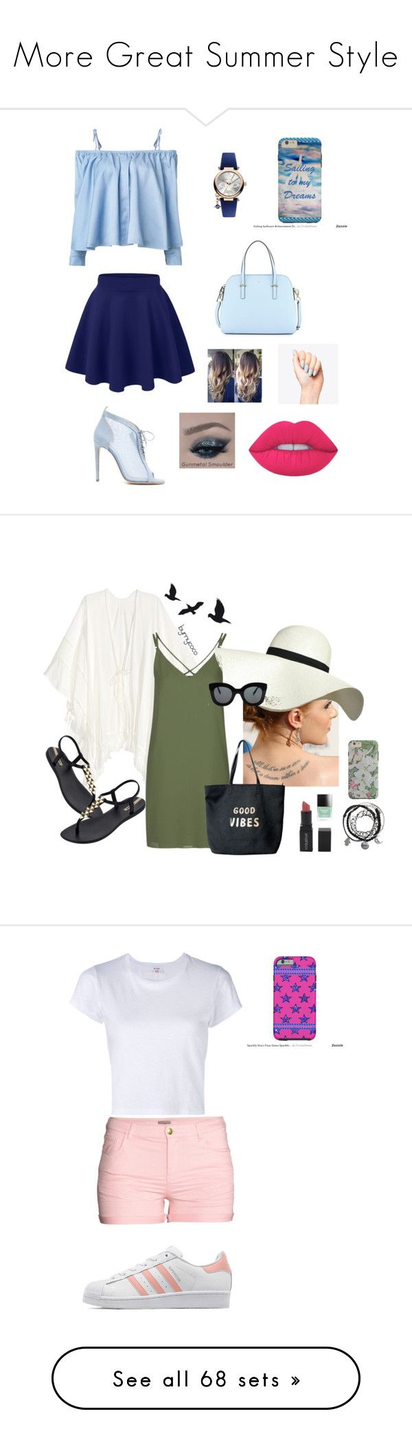 """""""More Great Summer Style"""" by cricketdiane ❤ liked on Polyvore featuring interior, interiors, interior design, home, home decor, interior decorating, Sandy Liang, Chloe Gosselin, Vivienne Westwood and Kate Spade"""