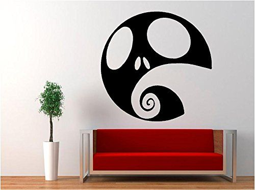 Jack Skellington   Nightmare Before Christmas Halloween Decal Sticker For  Window Wall Car Room (5.5 Part 59