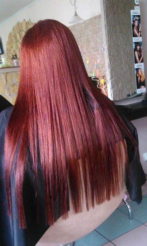 Farbowanie włosów - salon fryzjerski Sabina Jędrzejko - www.freestyle.net.pl