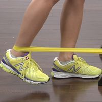 Hip strengthening to improve running and prevent knee pain.