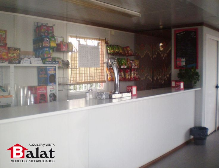 Kiosko prefabricado bar m vil bar prefabricado vic lvaro madrid caseta prefabricada m dulos - Balat modulos prefabricados ...