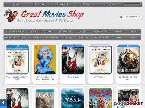 Greatmoviesshop.com SEO Stats, Worth & Analysis dlvr.it/LXh63B @TopFeedsNewss