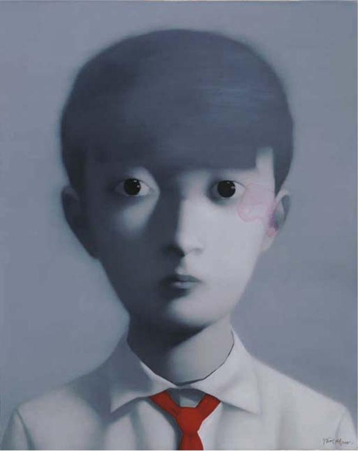 Zhang Xiaogang (1958 ) Boy, 2005 (120 x 150 cm