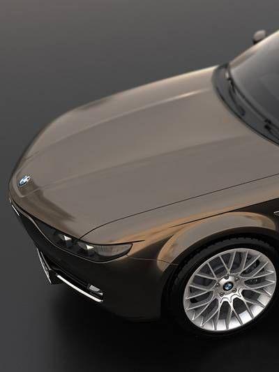BMW CS Vintage Concept by David Obendorfer  http://www.autorevue.at/aktuelles/bmw-cs-vintage-concept-werbung-eigener-sache.html
