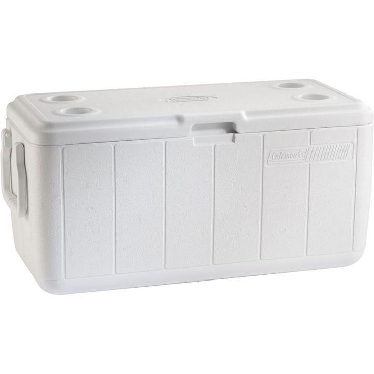 Coleman Inland Performance Series 100 Quart Marine Cooler, White