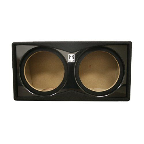 "Fierce Audio XED - 12"" Dual Sealed Bass Subwoofer Enclosure / Box - PS212.1 by Fierce Audio. $59.99. Fierce Audio XED 12in Dual Sealed Subwoofer Enclosure    This sealed subwoofer enclosure is designed to hold two 12"" subwoofers and features heavy-duty MDF construction and high-grade automotive carpet for durability.   Features      Compatible with 12"" subwoofers   designed to hold two 12"" subwoofers (not included).       Heavy-duty MDF and high-grade automotive carpeting   prov..."