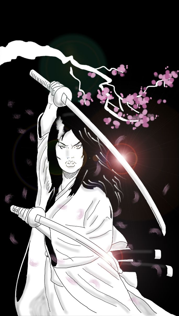 O Ren Ishii by Antonio Palumbo  #killbill #orenishii #geisha #samurai #woman